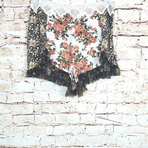 FREE PEOPLE|Moonlight Romance Floral Shorts Sz 6